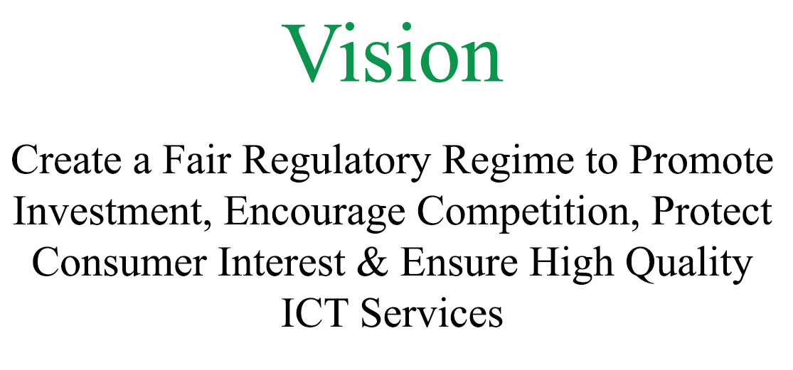 Vision of Pakistan telecommunication authority